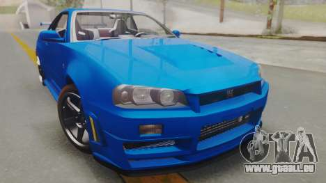 Nissan Skyline GT-R 2005 Z-Tune pour GTA San Andreas