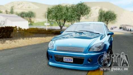 GTA 5 Declasse Premier pour GTA San Andreas