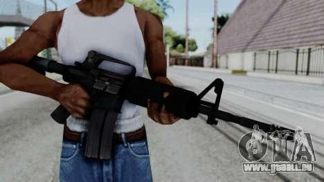 M16 A2 Carbine M727 v1 pour GTA San Andreas troisième écran