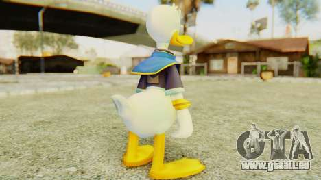 Kingdom Hearts 2 Donald Duck Default v2 für GTA San Andreas dritten Screenshot