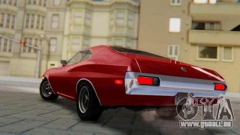 Ford Gran Torino Sport SportsRoof (63R) 1972 PJ1 für GTA San Andreas linke Ansicht