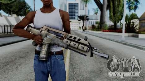 CoD Black Ops 2 - M8A1 pour GTA San Andreas troisième écran