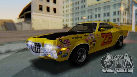 Ford Gran Torino Sport SportsRoof (63R) 1972 IVF pour GTA San Andreas moteur