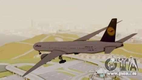 Boeing 777-9x Deutsche Lufthansa pour GTA San Andreas vue de droite