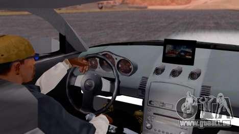 NISSAN 350Z pour GTA San Andreas vue de droite