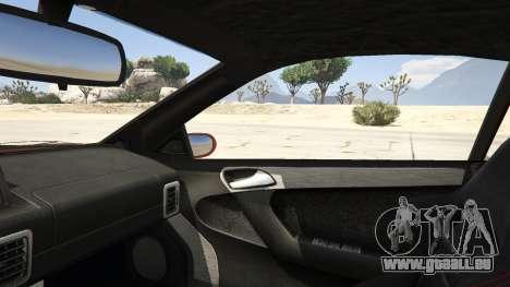 GTA 5 GTA 4 Feltzer arrière droit vue de côté