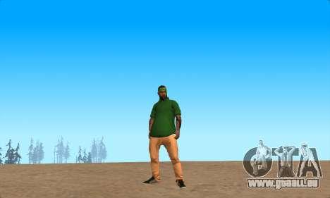 La peau Pak le Bosquet de ne Jamais pour GTA San Andreas deuxième écran