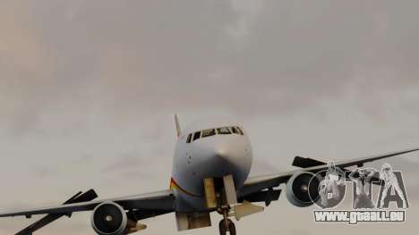 Boeing 767-300ER Hainan Airlines pour GTA San Andreas vue de droite