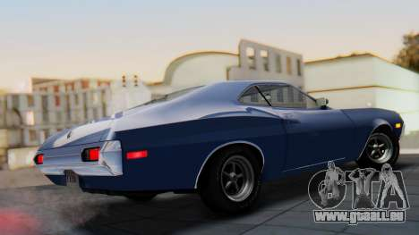 Ford Gran Torino Sport SportsRoof (63R) 1972 IVF pour GTA San Andreas laissé vue