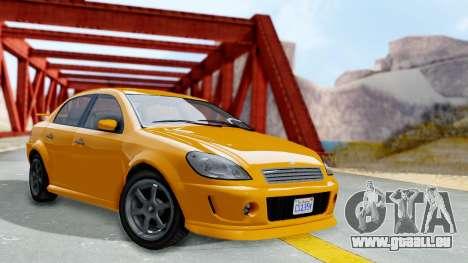 GTA 5 Declasse Premier Coupe für GTA San Andreas