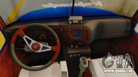 Mack Vision Trailer v3 pour GTA San Andreas vue arrière