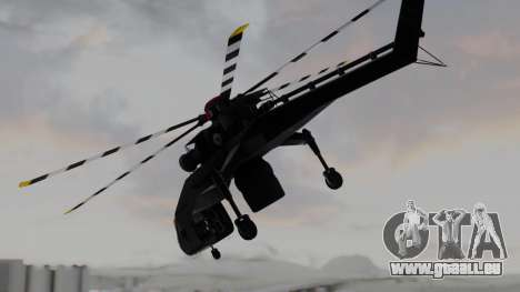 GTA 5 HVY Skylift für GTA San Andreas linke Ansicht