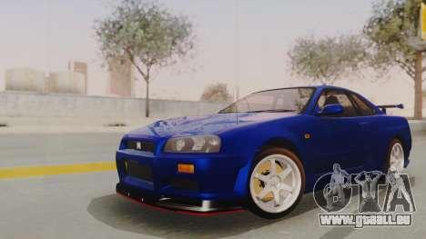 Nissan Skyline GT-R 2005 Z-Tune Nismo Prototype pour GTA San Andreas