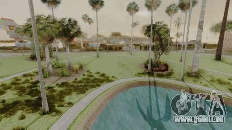 Glenpark HD pour GTA San Andreas troisième écran