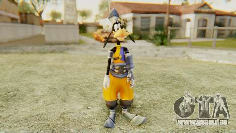 Kingdom Hearts 1 Goofy Disney Castle pour GTA San Andreas deuxième écran