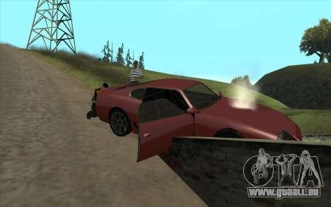 Voyage sur la route 1.0 pour GTA San Andreas deuxième écran