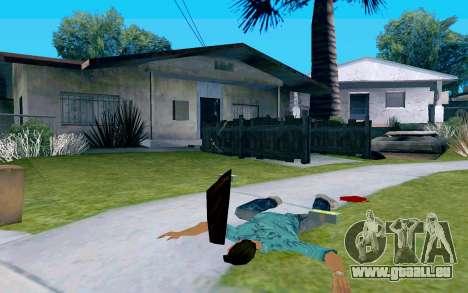 En verre avec poignée pour GTA San Andreas troisième écran