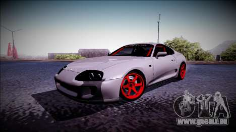 Toyota Supra Drift Monster Energy für GTA San Andreas