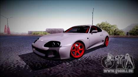 Toyota Supra Drift Monster Energy für GTA San Andreas