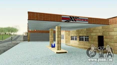 HD Doherty Garage für GTA San Andreas zweiten Screenshot