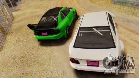 GTA 5 Karin Sultan RS IVF pour GTA San Andreas vue de droite