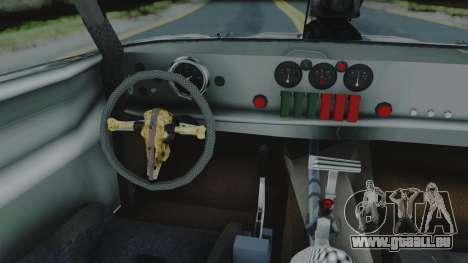 Razor Cola v1.0 für GTA San Andreas Rückansicht