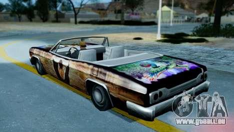 Slamvan New PJ für GTA San Andreas Innenansicht