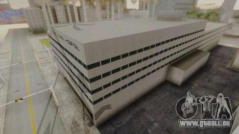 Hospital LS pour GTA San Andreas troisième écran