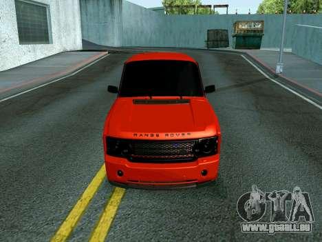 VAZ 2107 Rang Rover Edition für GTA San Andreas zurück linke Ansicht
