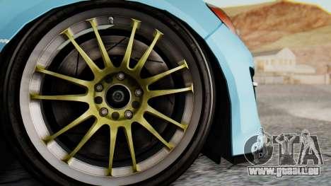 Mazda RX-8 Itasha für GTA San Andreas Rückansicht