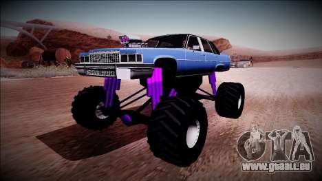 GTA 4 Emperor Monster Truck für GTA San Andreas