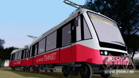 GTA 5 Metrotrain für GTA San Andreas linke Ansicht