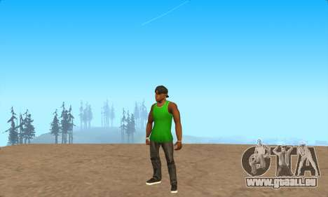 La peau Pak le Bosquet de ne Jamais pour GTA San Andreas quatrième écran