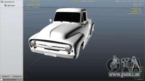 Ford FR100 1953 pour GTA 5