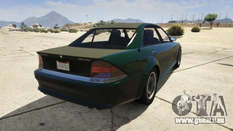 GTA 5 GTA 4 Schafter arrière vue latérale gauche