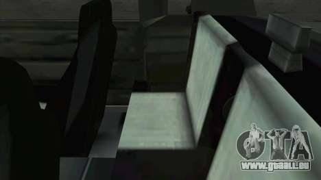 Willard Majestic pour GTA San Andreas vue de côté