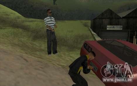 Voyage sur la route 1.0 pour GTA San Andreas quatrième écran