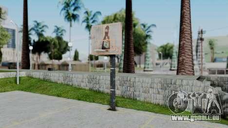 New Basketball Court für GTA San Andreas
