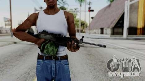 MG4 pour GTA San Andreas troisième écran