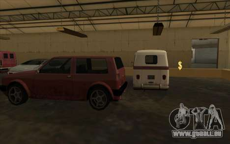 Die garage an den docks für GTA San Andreas dritten Screenshot
