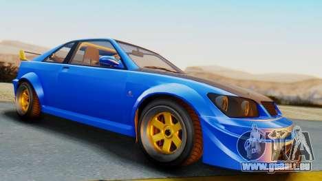 GTA 5 Karin Sultan RS Carbon pour GTA San Andreas vue de droite