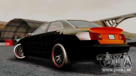 GTA 5 Benefactor Schafter V12 Arm pour GTA San Andreas laissé vue