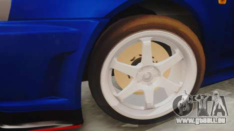 Nissan Skyline GT-R 2005 Z-Tune Nismo Prototype pour GTA San Andreas vue de droite