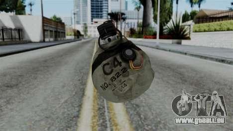 CoD Black Ops 2 - Semtex für GTA San Andreas
