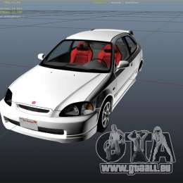 honda civic type r ek9 pour gta 5. Black Bedroom Furniture Sets. Home Design Ideas