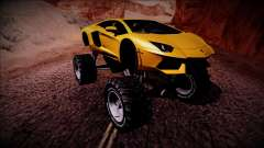 Lamborghini Aventador Monster Truck pour GTA San Andreas