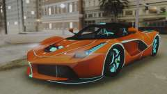 Ferrari LaFerrari TRON Edition v1.0