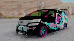 Toyota Vellfire Miku Pocky Exhaust