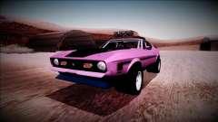 1971 Ford Mustang Rusty Rebel