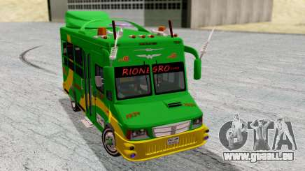 Iveco Turbo Daily Buseton v2 Flota Rionegro pour GTA San Andreas